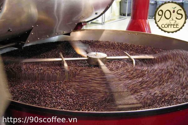 May rang cafe hien dai.
