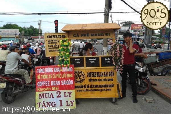 cafe take away rat phat trien trong nhung nam gan day