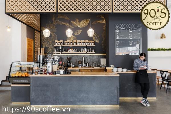 Mo hinh cafe take away van phong.