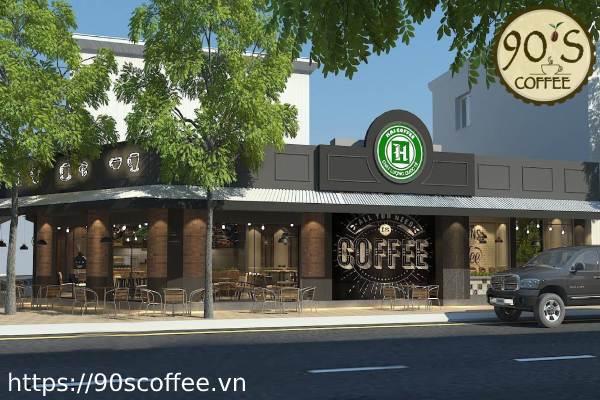 Lua chon mat bang phu hop cho quan cafe.