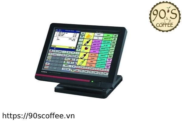 May tinh tien quan ca phe Casio QT 6600.