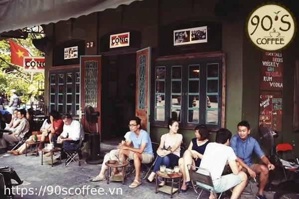 uong cafe nguyen chat tai quan 5