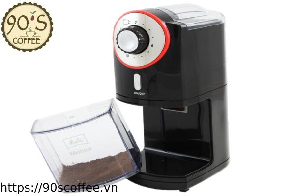Máy xay cà phê Melitta Molino.