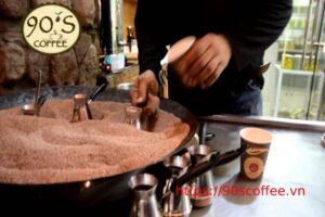 cafe xay nguyen chat co may loai