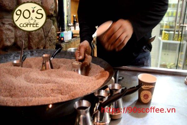 net dac trung trong thuong thuc turkish coffee tho nhi ky