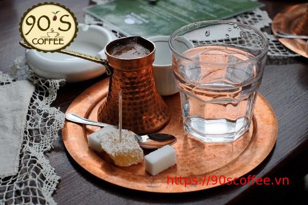 nguyen lieu can thiet de pha che turkish coffee